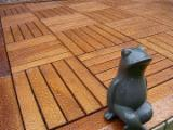 Exterior Decking  Acacia - Acacia/Oak/Ash Anti-Slip Decking, 332x332 mm