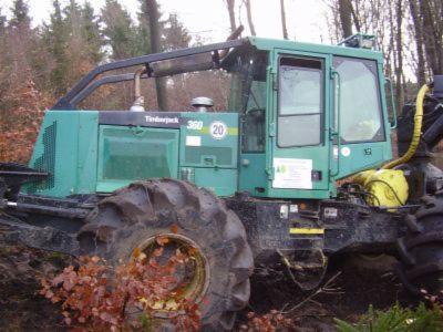 Gebraucht Timberjack 360 1998 Knickschlepper Zu Verkaufen