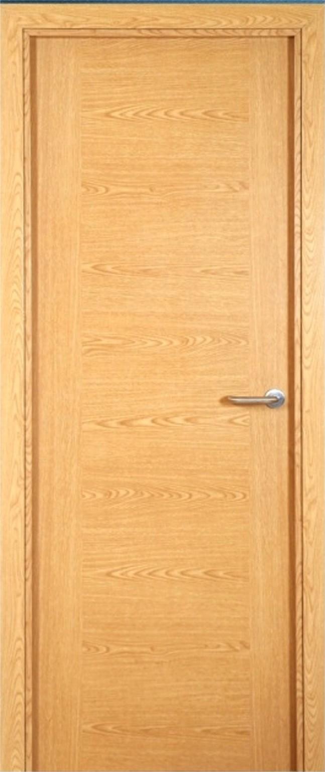 Melamina puerta ce for Puertas color pino