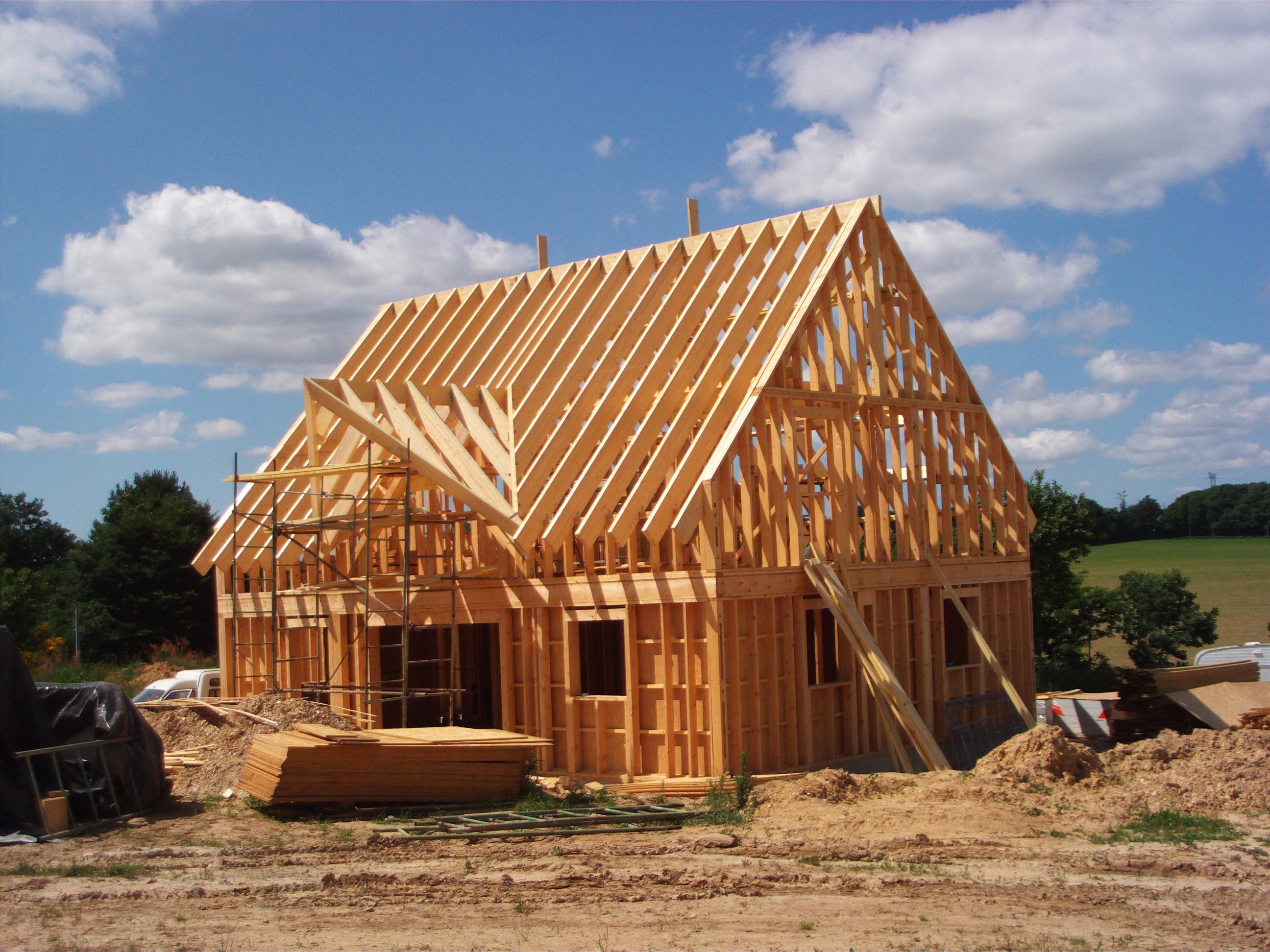 Casa con struttura in legno abete abies alba pectinata for Casa in legno romania