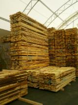 Nadelholz  Blockware, Unbesäumtes Holz Österreich - pine unedged