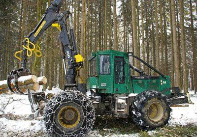 Used Timberjack 360 D Haas 2003, 4000h Skidder For Sale Germany