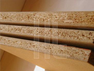Melamined-particle-board