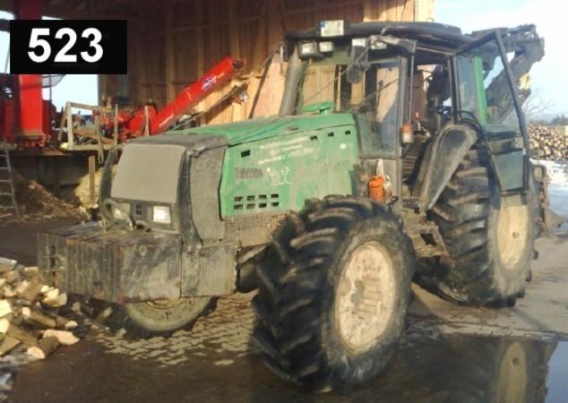 tracteur forestier valmet occasion