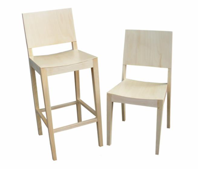 vend chaises de bar design feuillus europ ens h tre banat. Black Bedroom Furniture Sets. Home Design Ideas